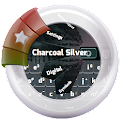 Charcoal Silver GO Keyboard icon