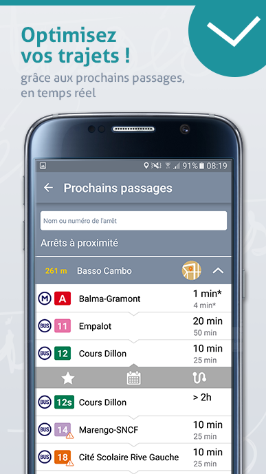 Tisséo métro tram bus Toulouse- screenshot