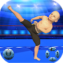 Kids Stars Countdown Rumble Wrestling: Fighting 3D icon