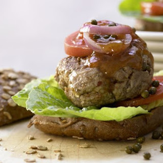 Healthy, Spicy Beef Burger