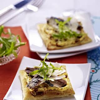 Sardine Puff Pastry Tarts.