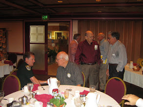 Photo: Sheriff Ben talking with Bill Ottinger. Frank, Blaine, Howard, and Bill are in the background. - July 8, 2008