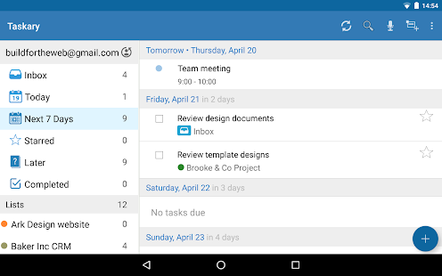 To-Do List for Google Tasks- screenshot thumbnail