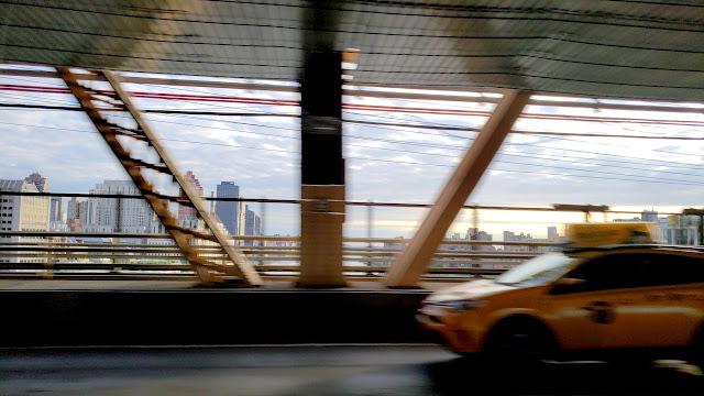 Queensboro Bridge during the ride to JFK
