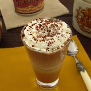 Chocolate Milk Shake With Whipped Cream.