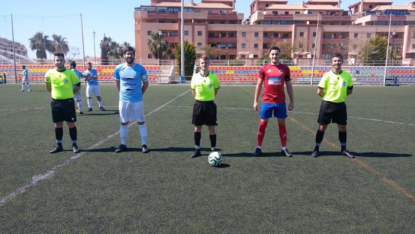 El  Poli Ejido CF cae frente a la UD Ciudad de Roquetas (2-0).