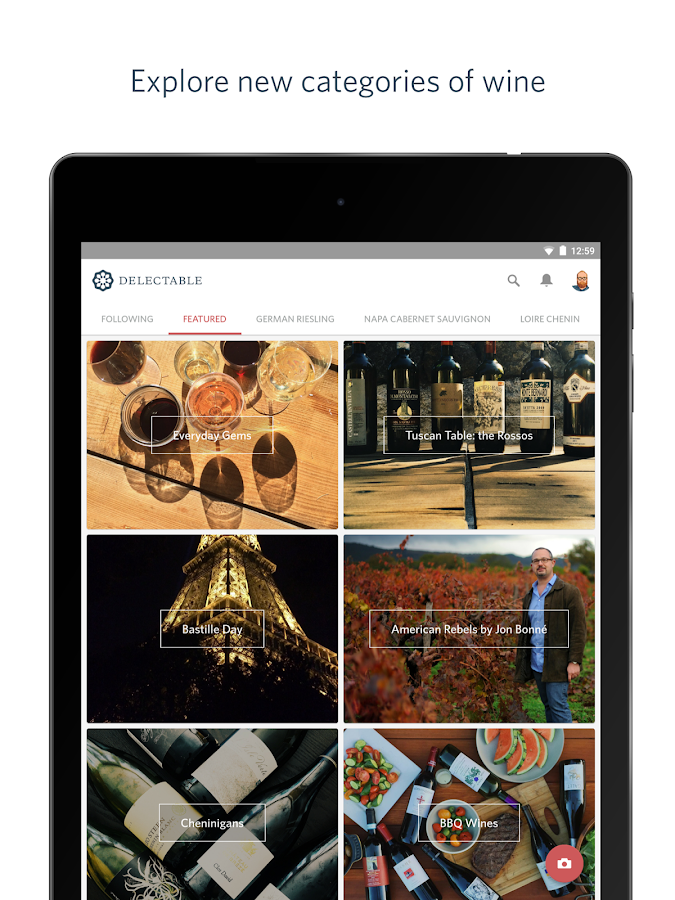 Delectable Wine   Scan & Rate – Android Apps auf Google Play
