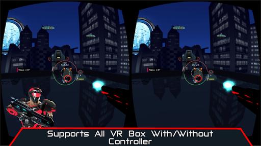 VR AR Dimension - Robot War Galaxy Shooter screenshots 2