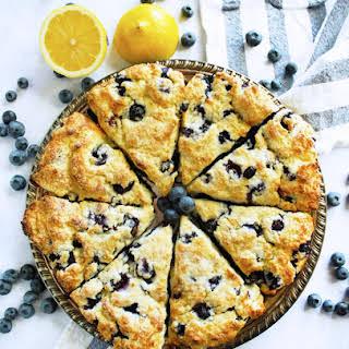 Lemon Blueberry Ricotta Scones.