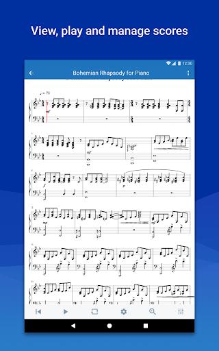 MuseScore: view and play sheet music 2.5.25 screenshots 13