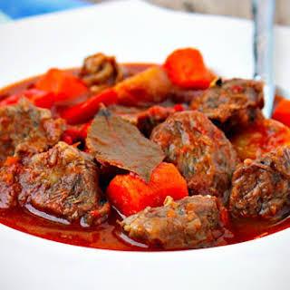 Beef Mechado.
