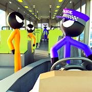 Prison Stickman Transport Police Van