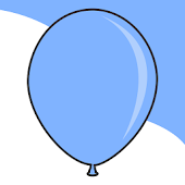 Soothing Balloons: No Clutter