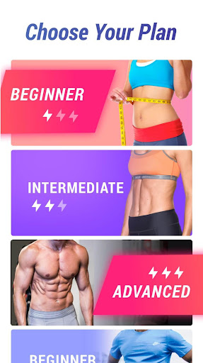 Lose Belly Fat in 30 Days - Flat Stomach Fitness app screenshot 1 for Android