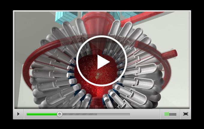 ANSYS Анимация работы реактора компании General Fusion
