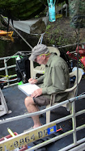 Photo: G. Farr (FSU Anthropology MA) logging dives at Page-Ladson (July 2012).