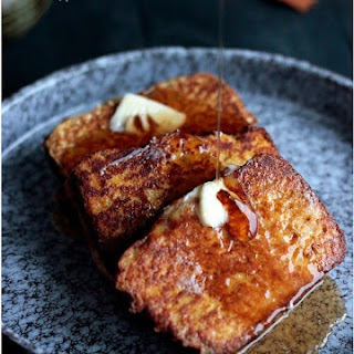 Pumpkin Bread French Toast – Low Carb and Gluten Free.