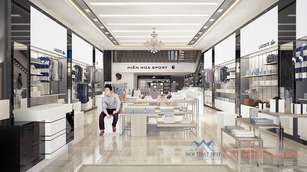 thiết kế shop thời trang cao cấp tại Thanh Hóa