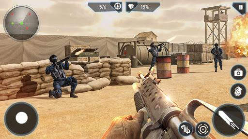 Télécharger Gratuit Modern FPS Combat Mission - Free Action Games 2020 mod apk screenshots 5