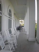 Photo: back porch of hotel