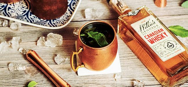 Keto-Friendly Mint Julep by Willie's Distillery