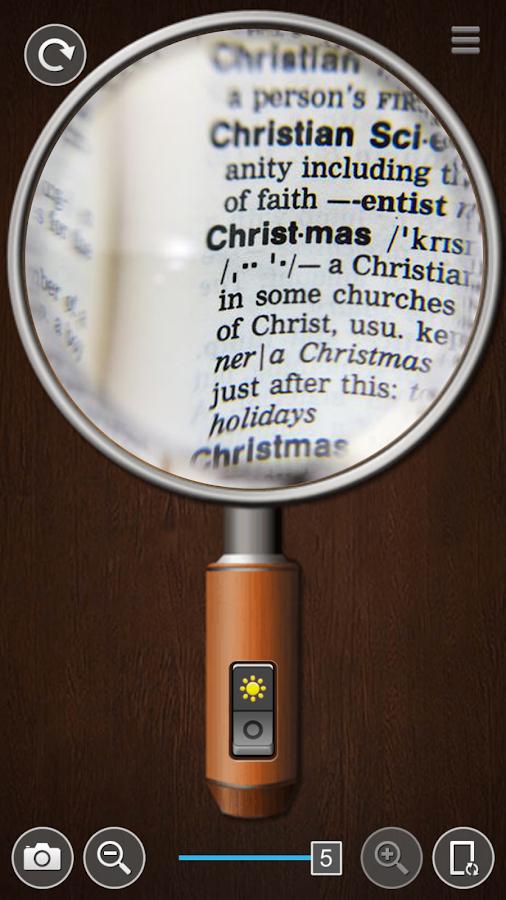 Smart Magnifier- screenshot