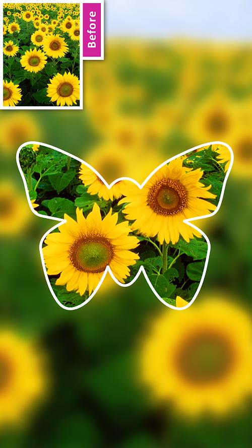 Screenshot 2 DSLR Camera Blur Background , Bokeh Effects Photo 2.1 APK PAID