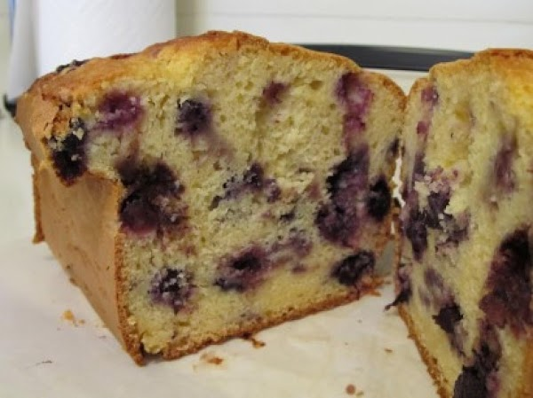 Blueberry Pound Cake Recipe