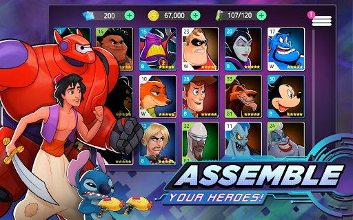 Disney Heroes: Battle Mode apktram screenshots 2