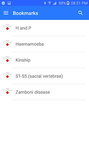 Medical terminology - Offline 7.0 Screenshots 8