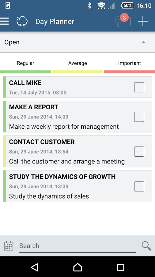 Smarty CRM: organizer, chat- screenshot