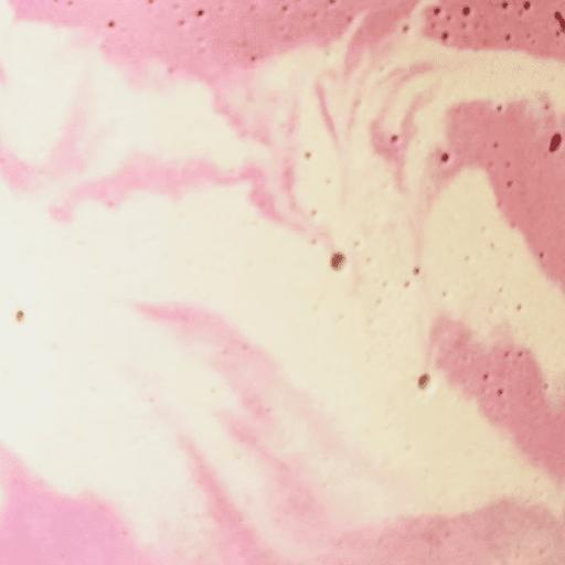 béton marbré rose pastel