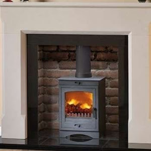 An installed contempary cascada 5 stove