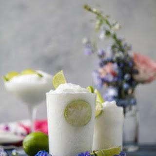 Coconut Limeade Slushies.