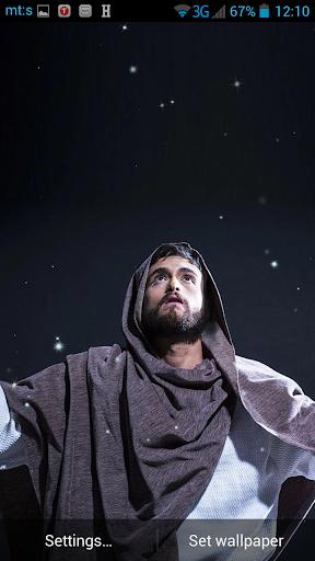 聖なるイエスライブ壁紙