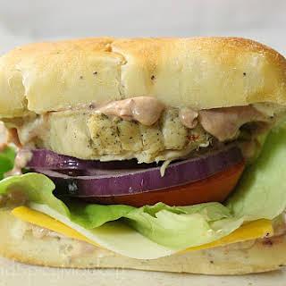 Turkey Sandwich with Cranberry Sandwich Sauce.