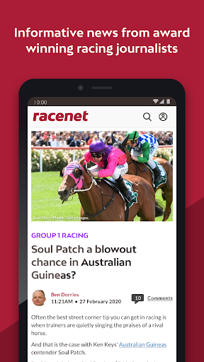 Best horse racing tips app uk