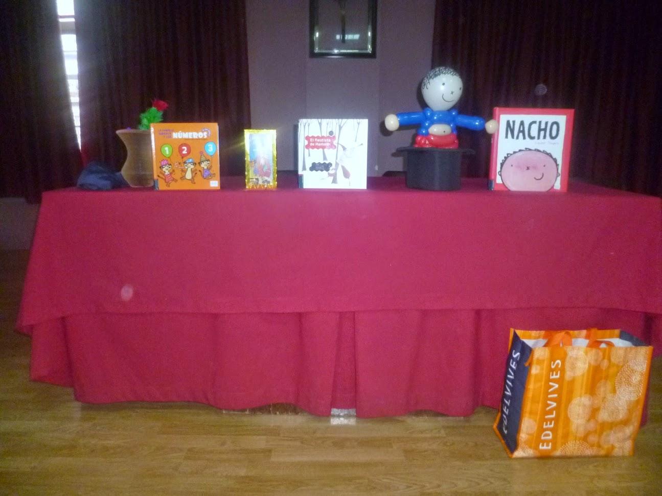 animación a la lectura show de magia