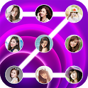 Lock screen pattern photo icon