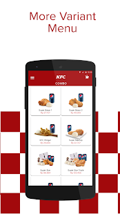 KFC Indonesia - Home Delivery- screenshot thumbnail