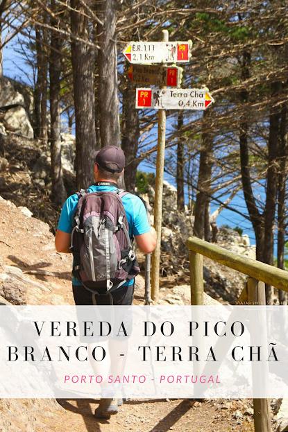 Trilho PS PR1 - Vereda do Pico Branco e Terra Chã, em Porto Santo | Portugal
