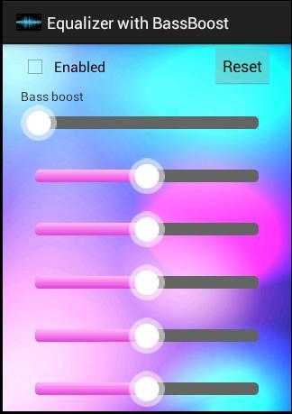 均衡器與低音增強