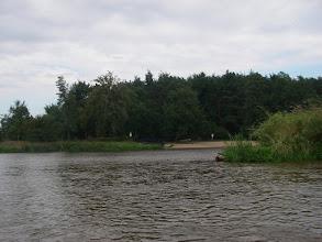 Photo: tutaj była meta marcowej Pilicy 115 km.