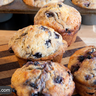 Coconut BlueBerry Muffins.