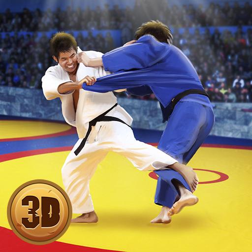 Judo Fighting Tiger 3D