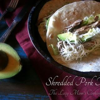 Shredded Pork Tacos