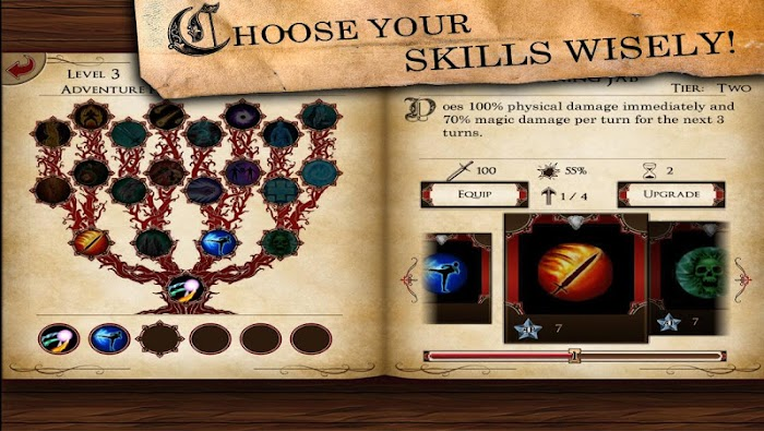 Skilltree Saga- screenshot
