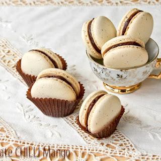 Wattle Seed Frangelico Macarons