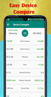 App My Android Phone | Test Your Phone | Comparison APK for Windows Phone