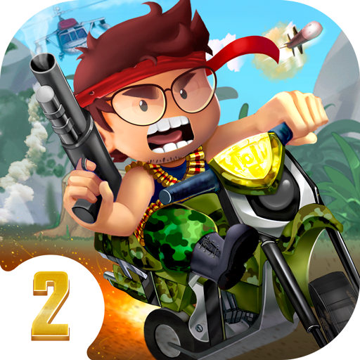 Ramboat 2 - Run and Gun, FREE Action Game Offline! icon